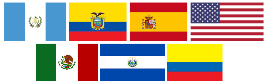 Some Latin American Flags