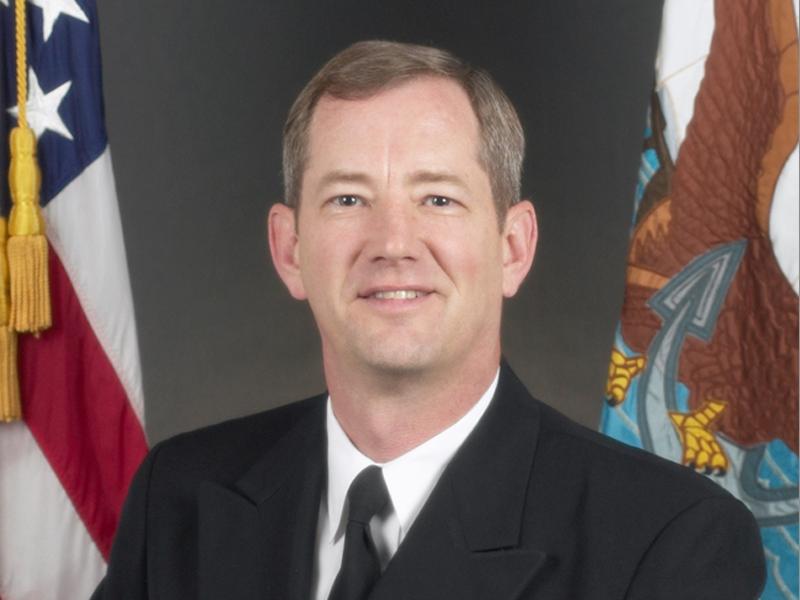 Admiral Len Hering