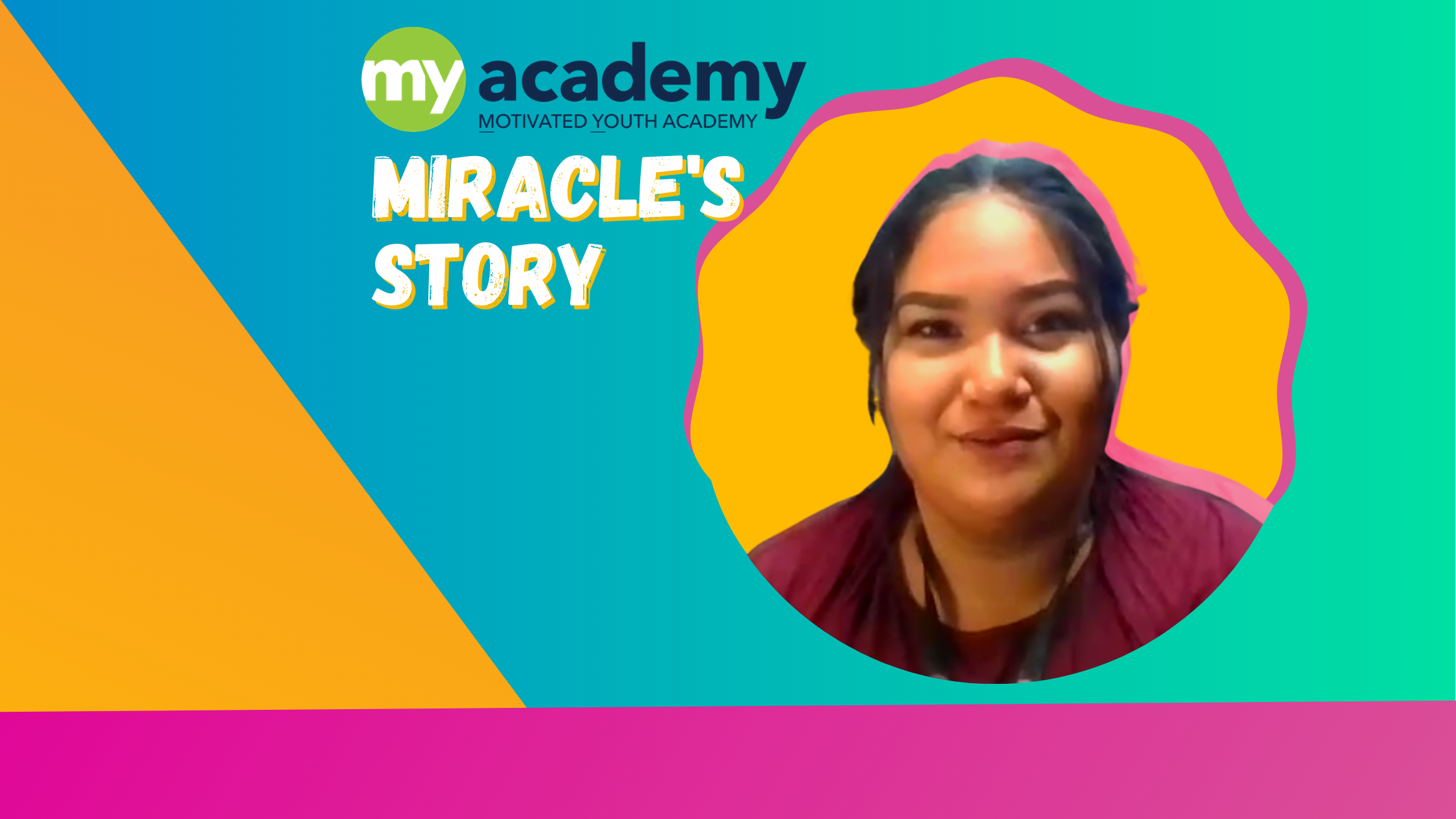 """Miracle's Story: """"I'm Doing Something With My Life."""""""